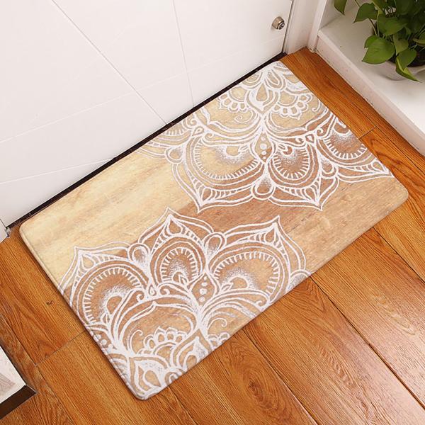 Non Slip Indoor Door Mats Washable Rugs Bedroom Floor Mat #13 50x80cm