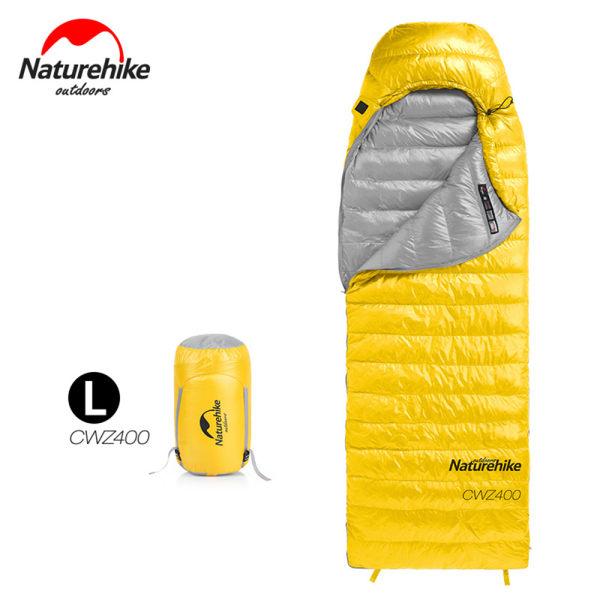Ultralight Sleeping Bags White Goose Down Camping Hiking Yellow L