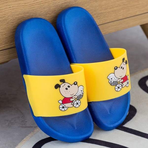 Unisex girls and boys soft-soled beach shoes comfortable slipper Blue,34/35