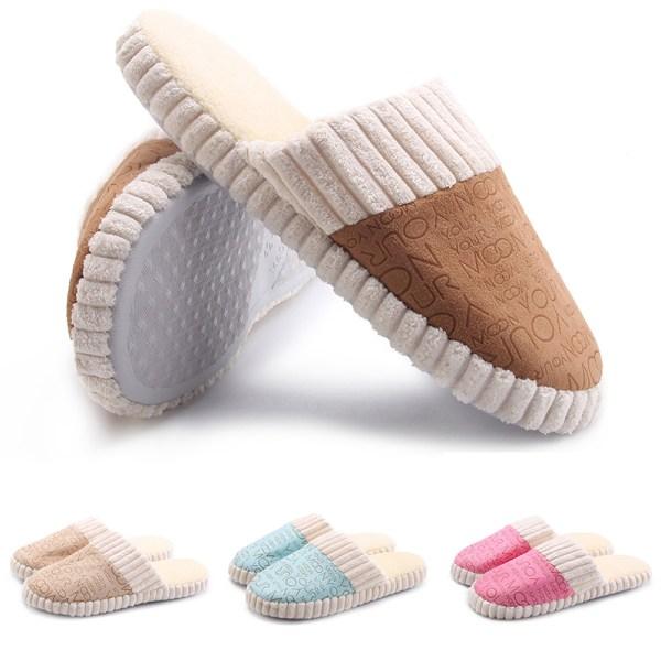 Unisex Slippers Slides Shoes Mules Round Toe Footwear Slip On Khaki,42-43