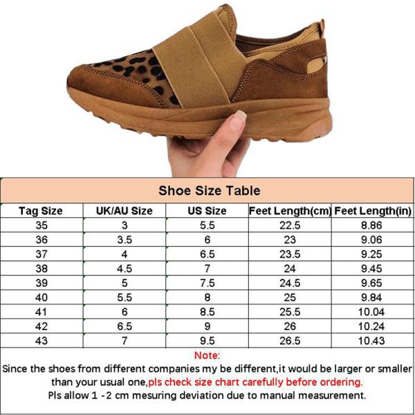 Women Fashion Casual Loafers Splicing Flat Leopard Print Shoes Leopard Print,38