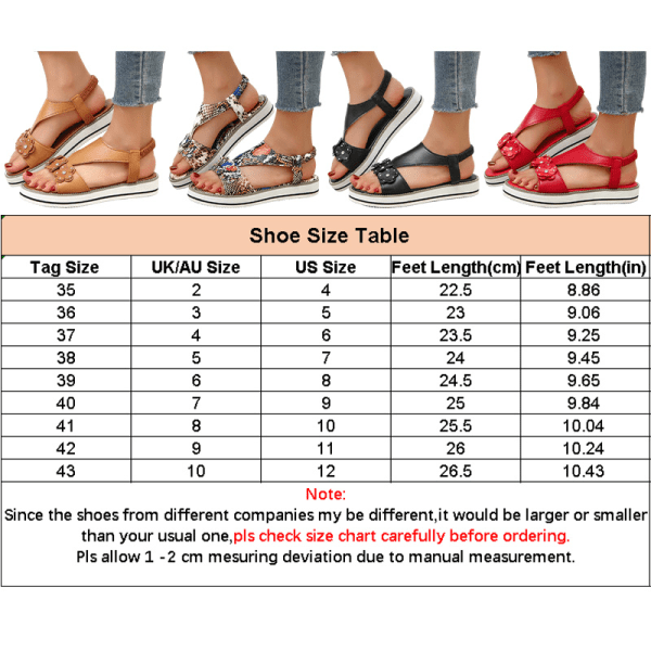 Women's casual flat rubber band sandals summer breathable Red,41