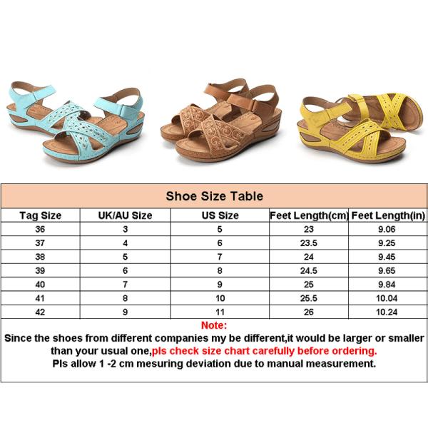 Women's Fashion Car Series Sandals Comfortable Velcro Sandals Khaki,40