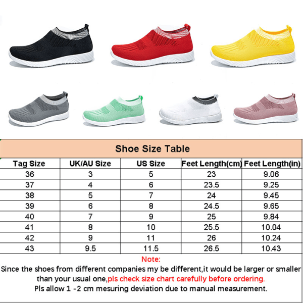 Women's fashion socks shoes soft sports casual shoes Pink,39