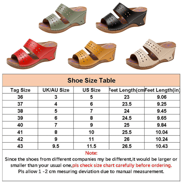 Women's Hollow Open Toe Sandals Fashion Platform Slippers Summer Yellow,37