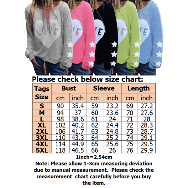 Women's Hooded Sweatshirts Women's Hoodie Tops Pullovers Gray,L