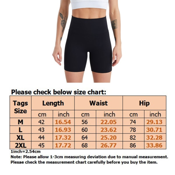 Women'S Solid Color High Waist Yoga Shorts Quick-Drying Black,XL