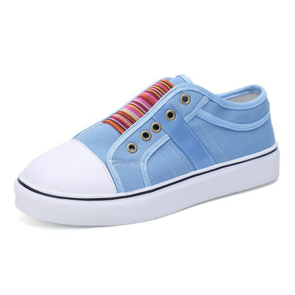 Women's summer single shoes soft sole casual shoes all-match Blue,39