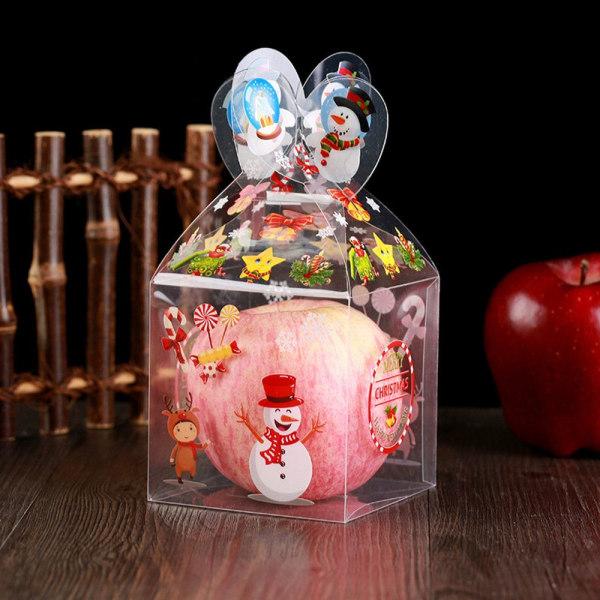 Plastlåda Candy Gift Box SNOWMAN SNOWMAN