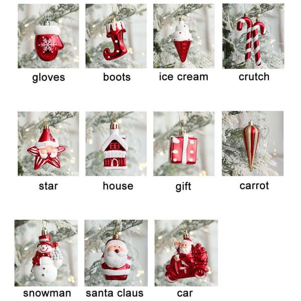 2 st/förpackning Hängande julklappspresent
