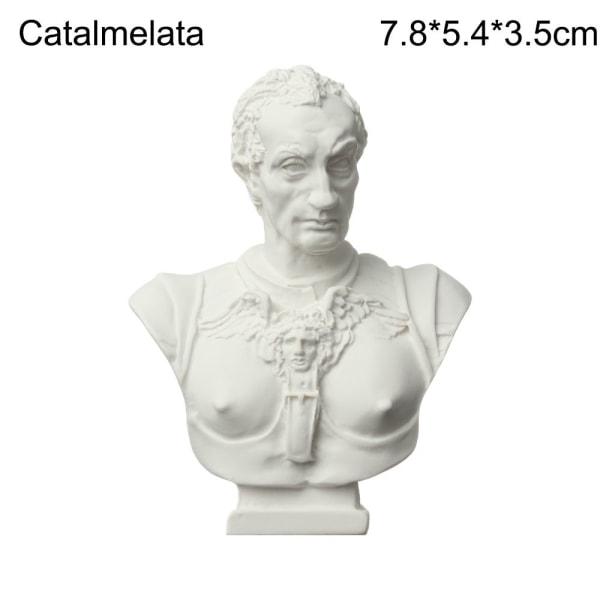 Gipsbystporträtt Gipsstaty Grekisk mytologi CATALMELATA