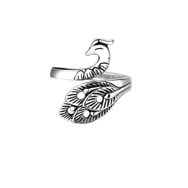 1 PC stickningslinga virkad ringring sytillbehör påfågel