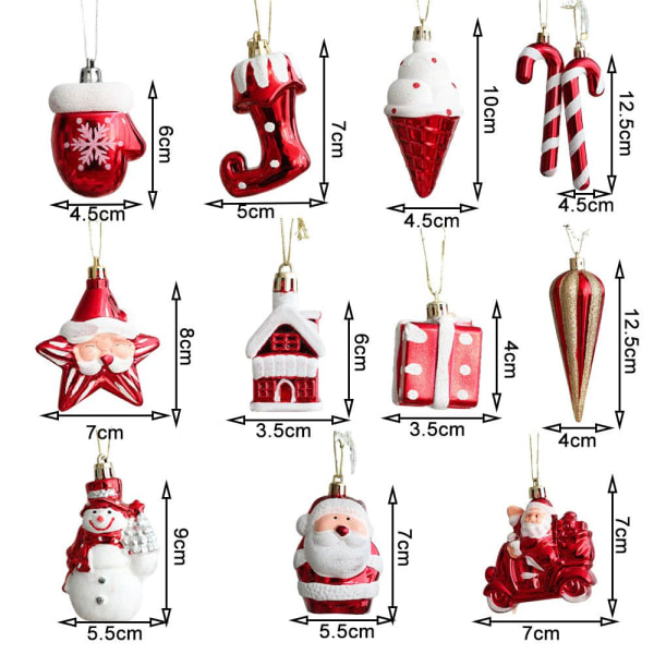 2 st/förpackning Hängande julMORÖTMORROT