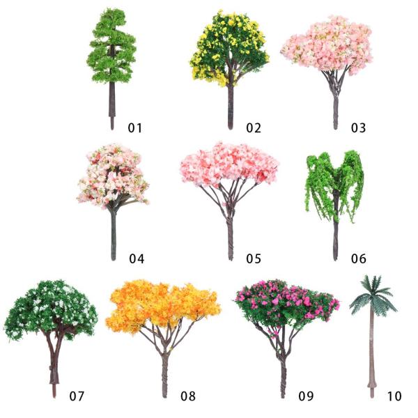 10 stilar Mini Tree Micro Plant 4 4