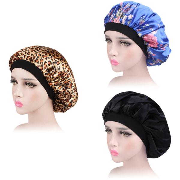 3st Satin Bonnet Sleep Cap Night Hat