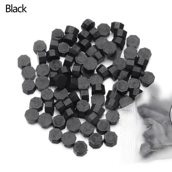 100st/påse vaxpärlor tätning stämpel pärlvax svart
