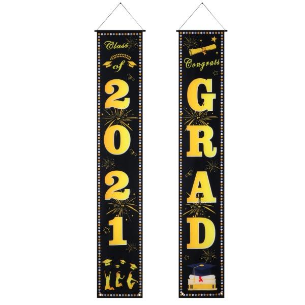 2021 Graduation Season Banner Hanging Banner för Graduation