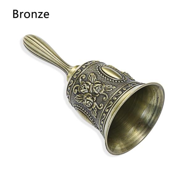 Christmas Handbell Hand Call Bell BRONZE