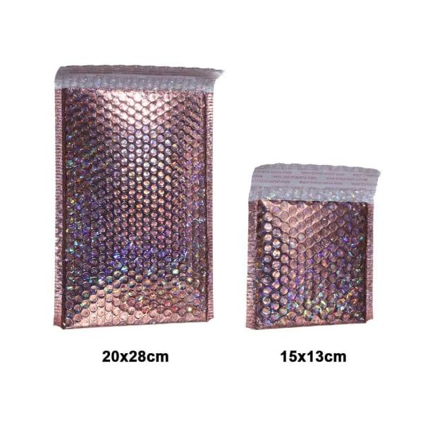 5st Skumfolie Förpackning Kuvert 20X28CM 20x28cm