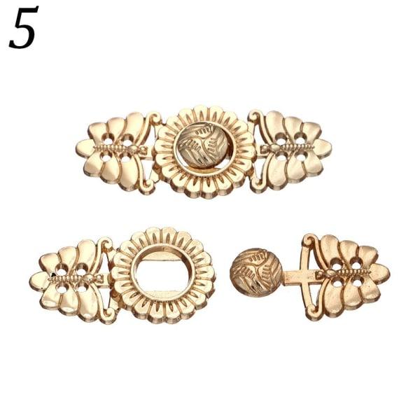 5st Tröja Knappar Cardigan Clip 5 5 5
