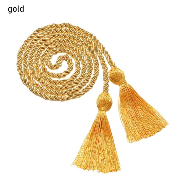 1st Gradering Honor Cords tofsar Cord GOLD
