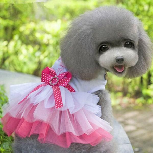 Sommar husdjurskläder Hundklädkläder för liten valp 04-L
