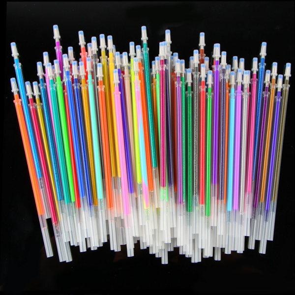 24/36 / 48PCS Refills Gel refills Glitter Pen 36 FÄRGER