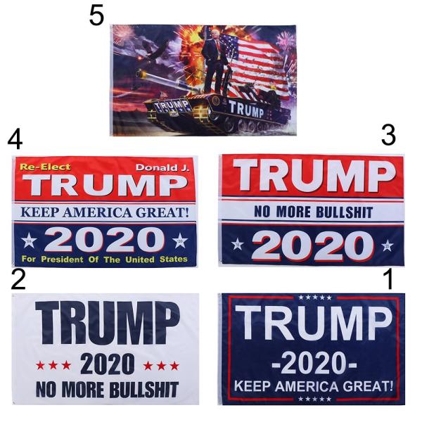 90X150CM Donald Trump Flag Banners President USA 1