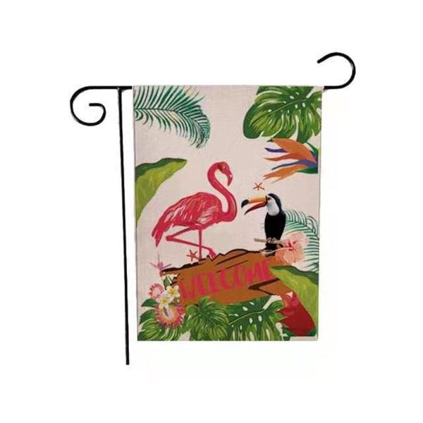 Sommarträdgårdsflagga 12 × 18 tum 8 8