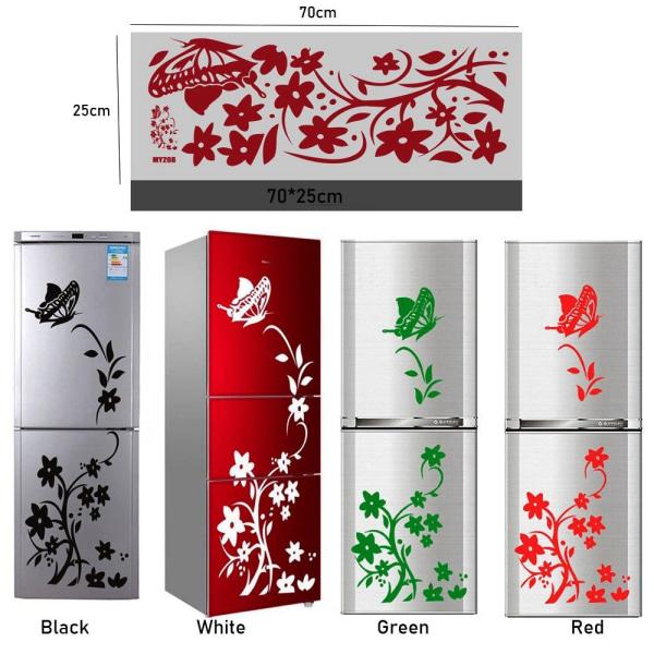 Kreativa kylskåpsdekaler Väggdekaler Konstmural dekor