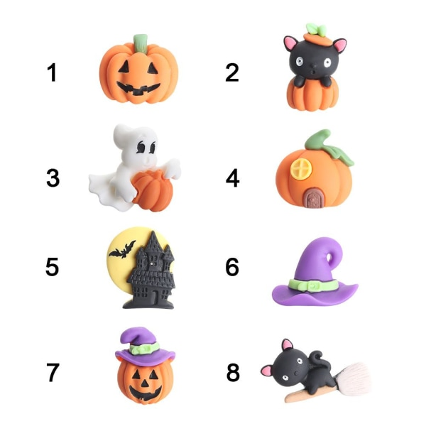 Halloween tillbehör harts 4 4