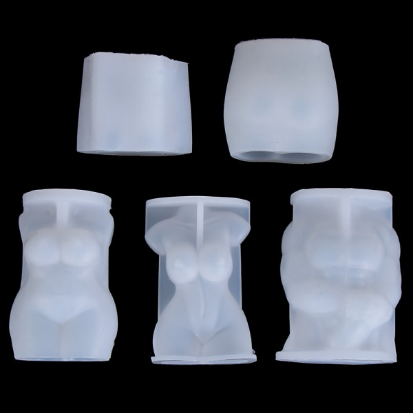 3D Body Silicone Form Resin Form TYPE B TYPE B