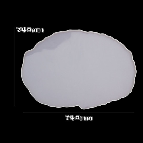 Gjutformar för harts oregelbunden 1 COASTER MOLD