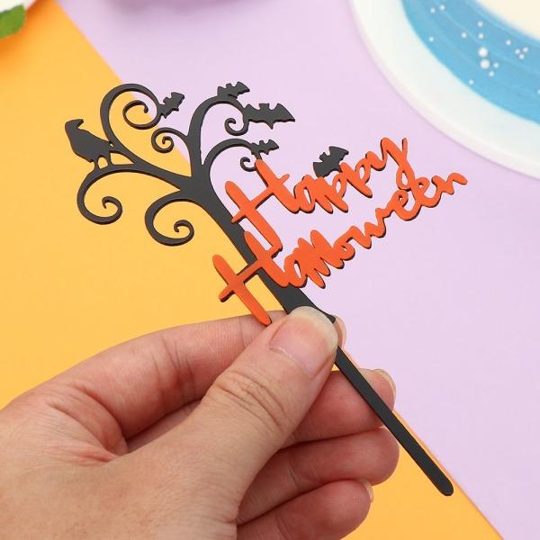 Happy Halloween Series Acrylic Cake Topper BB