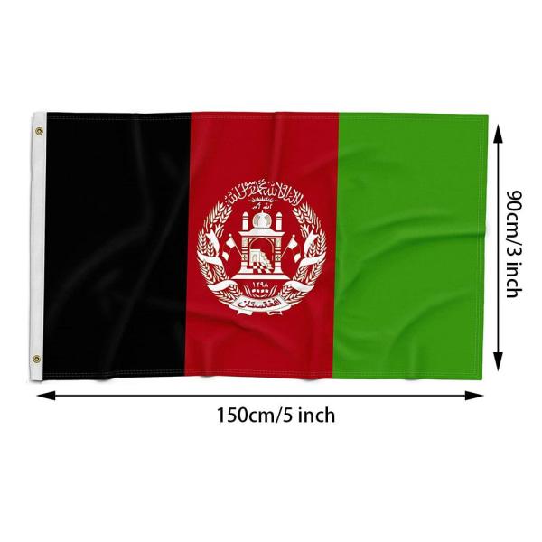 3x5Ft Afghanistan Flagga Afghan National Banner Garden Flags