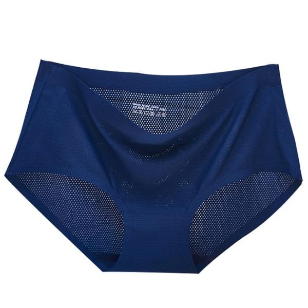 Andningsbar Underkläder Mesh Hipster Panty SVART L.