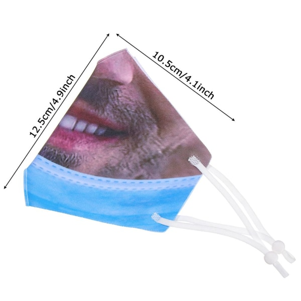Anti-Pollution Funny Mask Mouth-Muffle Respirator STIL H