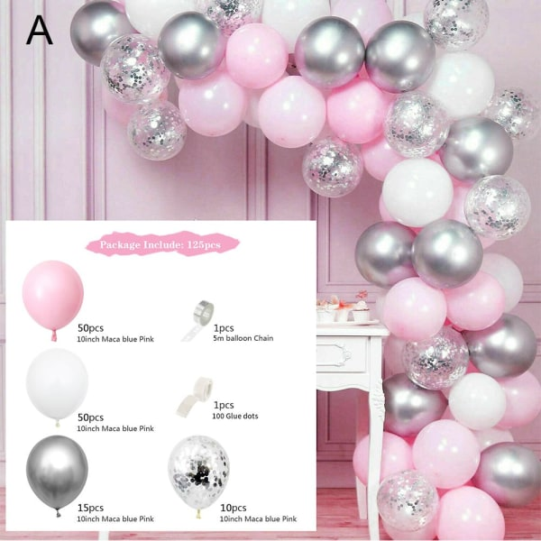 Balloon Arch Kit Macaron Balloons A