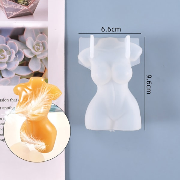 3D-kropps silikonform Hartsform STIL 6