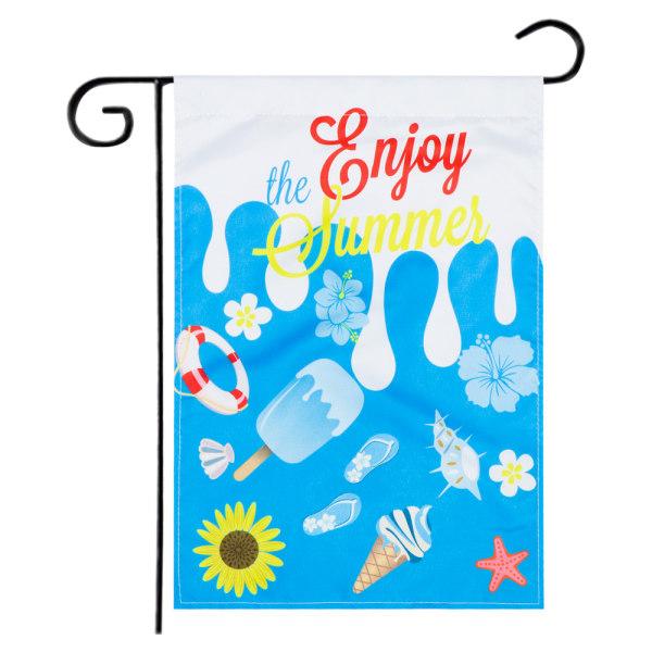Garden Flag Beach Gnomes 703