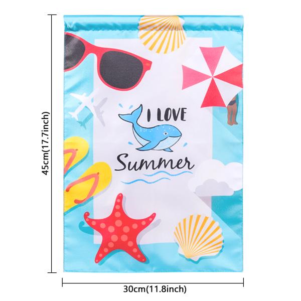 Summer Garden Flag Sunshine Summer Flag XR021-FF-HYQ3004