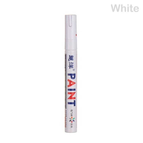 1pc Paint Pen Marker bildäck VIT