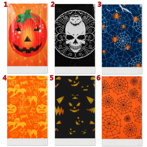 1st Halloween bordsduk Halloween bordsdekor 5