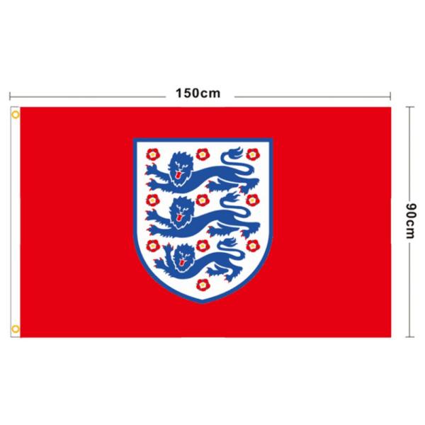 England Flag 3 Lions Banner EURO 2021