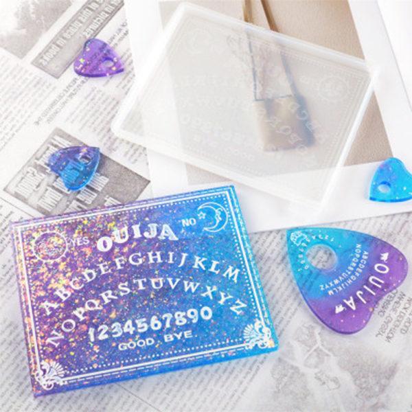 Ouija Board Resin Moulds Planchette Divination Board Mold