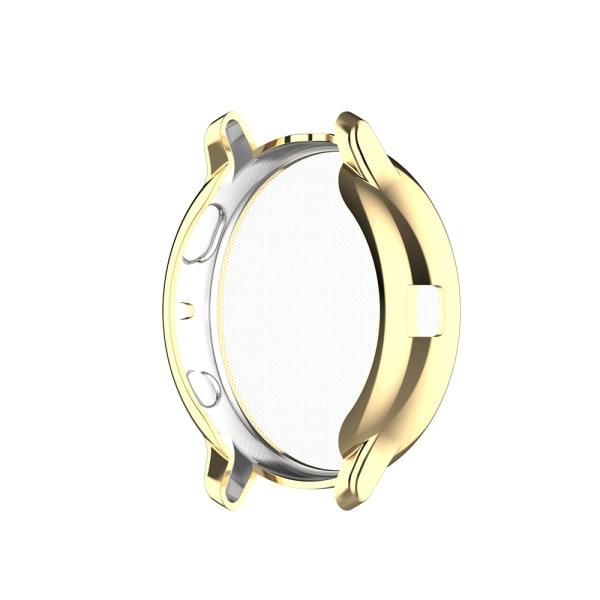 Plätering TPU Watch Case Skärmskydd Full Cover GOLD 40MM