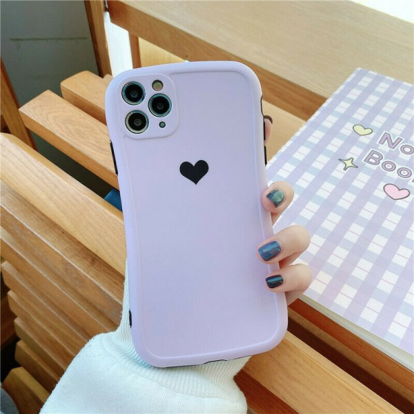 Fodral till iPhone 12 11 Pro Silica Gel Soft Phone Cover A,For iPhone 12 Mini