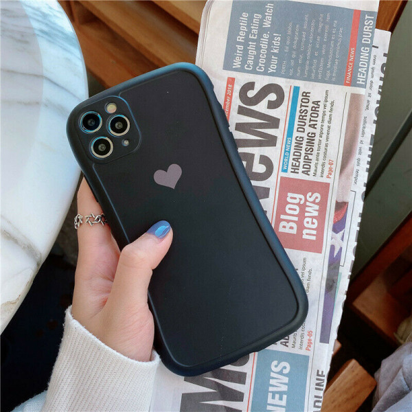 Fodral till iPhone 12 11 Pro Silica Gel Soft Phone Cover B,For iPhone 12