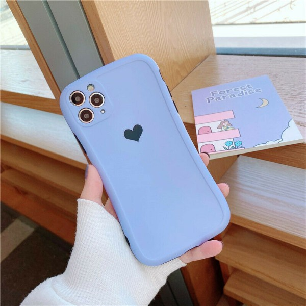 Fodral till iPhone 12 11 Pro Silica Gel Soft Phone Cover D,For iPhone 7 PLUS / 8 PLUS