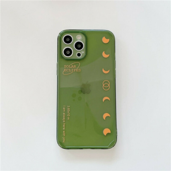 För iPhone 11 XR XS 7 8 Plus Soft Moon Phone Case For iPhone 12 Pro 6.1